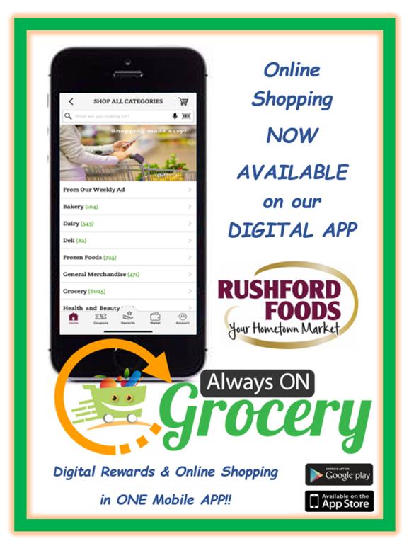 Rushford Foods Online Shopping
